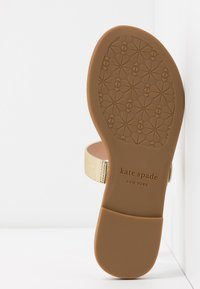 kate spade new york - CATANIA - T-bar sandals - pale gold - 6