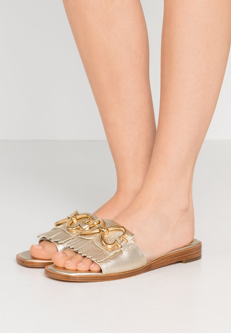 kate spade new york - POSY CLEAN  - Mules - pale gold