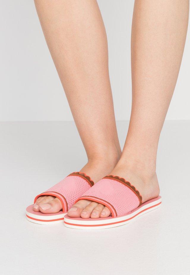 FESTIVAL - Pantolette flach - pink