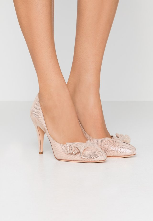 ALESSIA - Lodičky na vysokém podpatku - blush