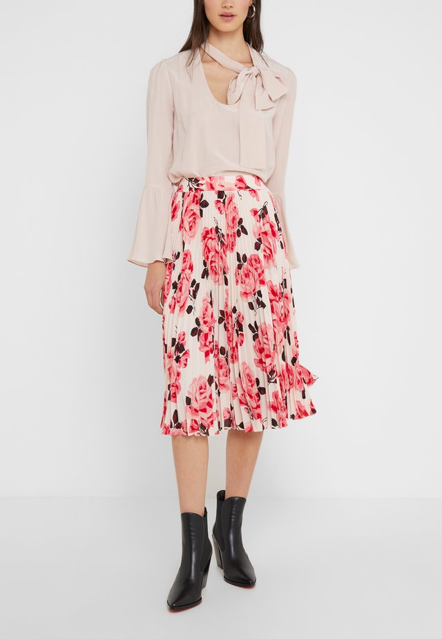 ROSA PLEATED SKIRT - A-Linien-Rock - pinksand