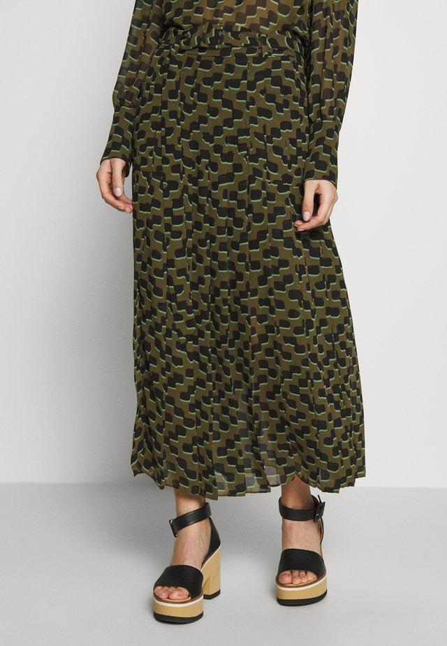 TRELLIS SKIRT - Maxi sukně - ivy leaf