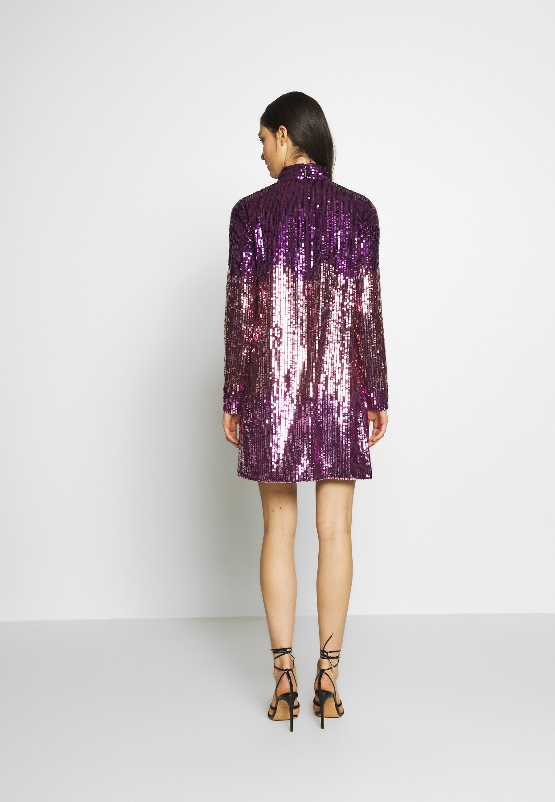Kate Spade New York Ombre Sequin Dress - Cocktail / Party Plum Tree