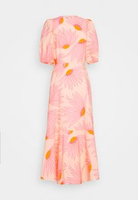 kate spade new york - GRAND DAISY WRAP DRESS - Day dress - light guava juice - 1