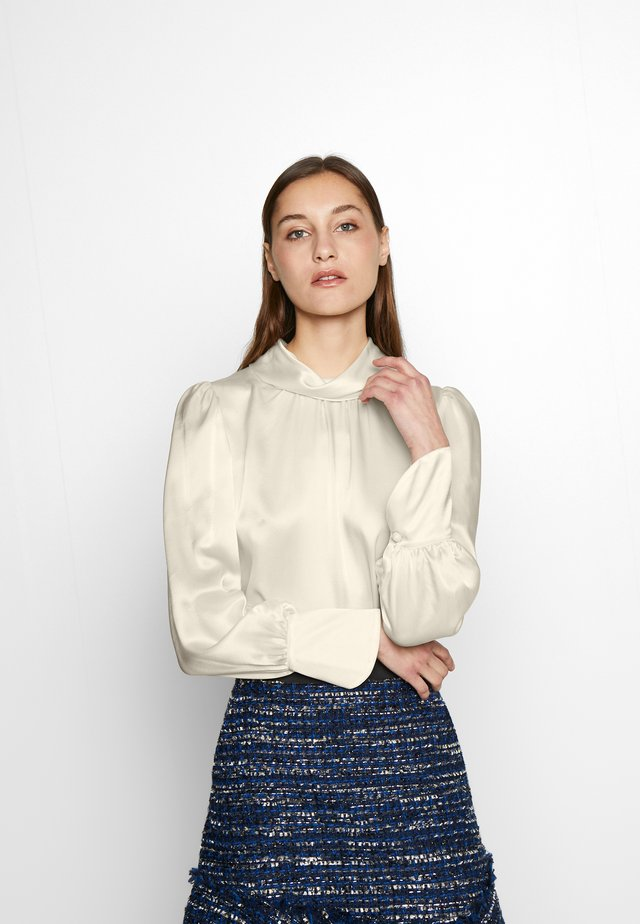 CHARMEUSE BLOUSE - Bluse - french cream