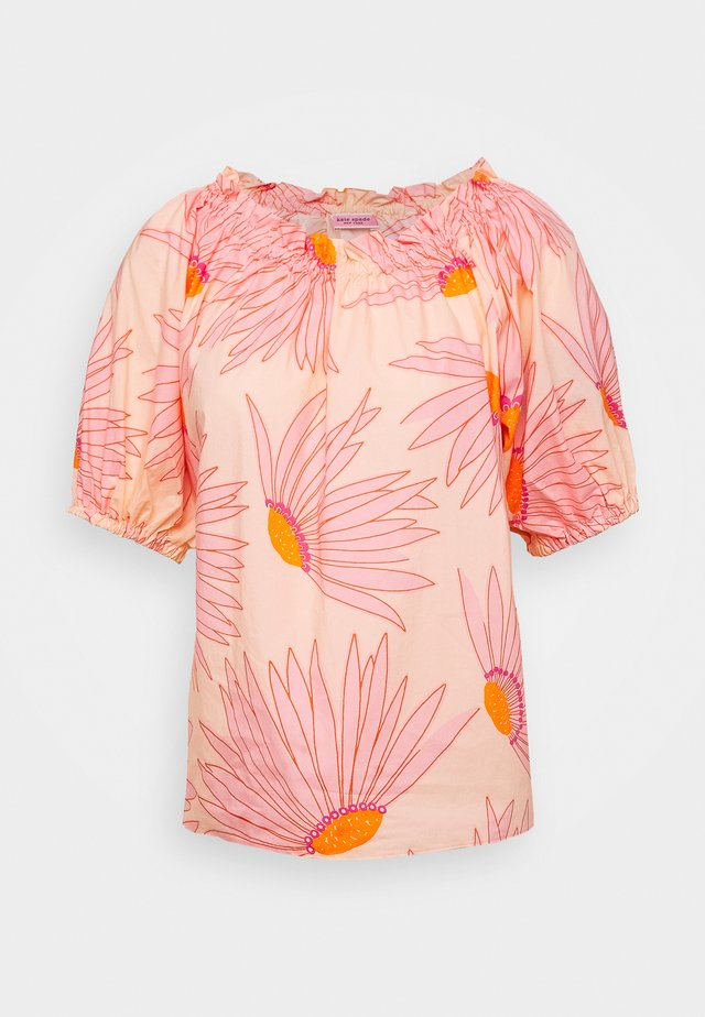 GRAND DAISY BLOUSE - Bluse - light guava juice