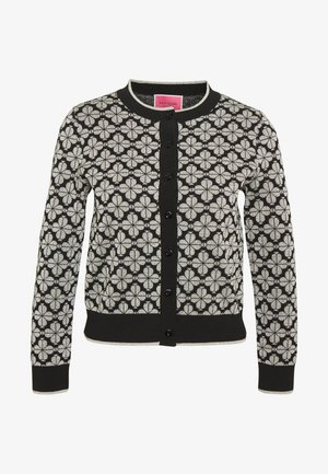 SPADE FLOWER CARDIGAN - Cardigan - black/multi