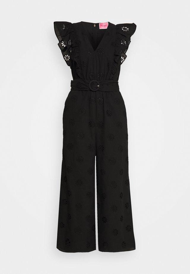 SPADE CLOVER EYELET - Overall / Jumpsuit - black