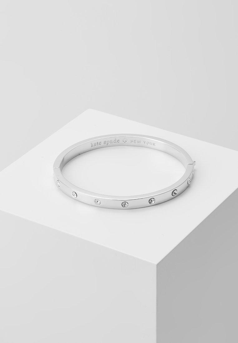 kate spade new york - HINGED BANGLE - Armband - silver-coloured