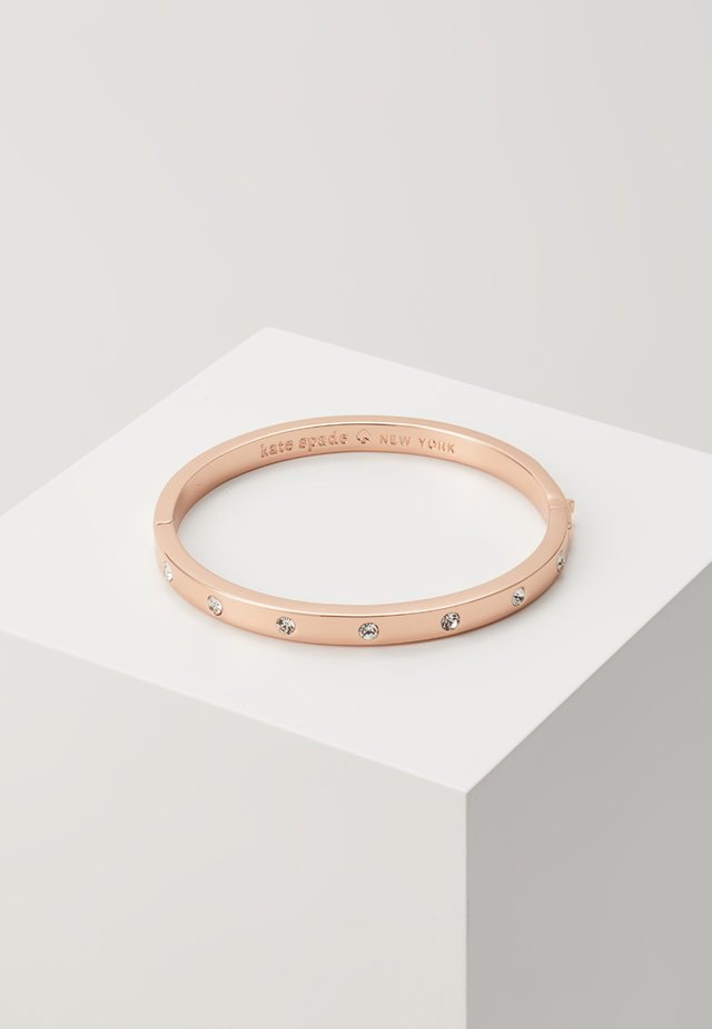 HINGED BANGLE - Armband - rose gold-coloured
