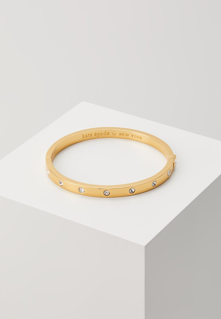 kate spade new york - HINGED  BANGLE - Armband - gold-coloured