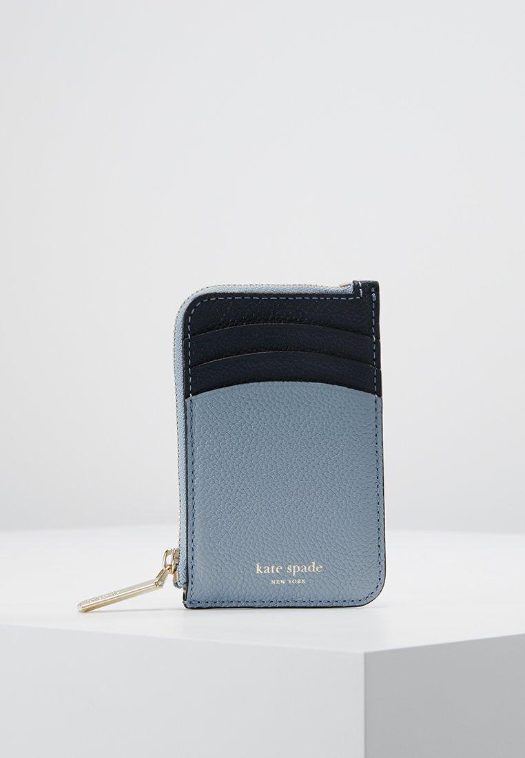 kate spade new york - MARGAUX ZIP CARD HOLDER - Geldbörse - horizon blue/multi