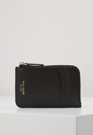 MARGAUX ZIP CARD HOLDER - Punge - black