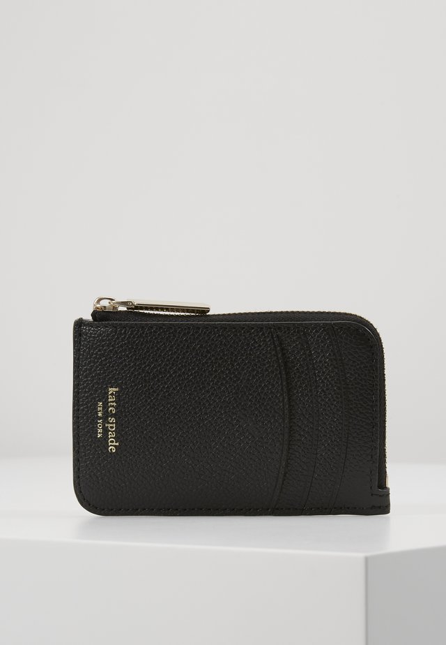 MARGAUX ZIP CARD HOLDER - Geldbörse - black