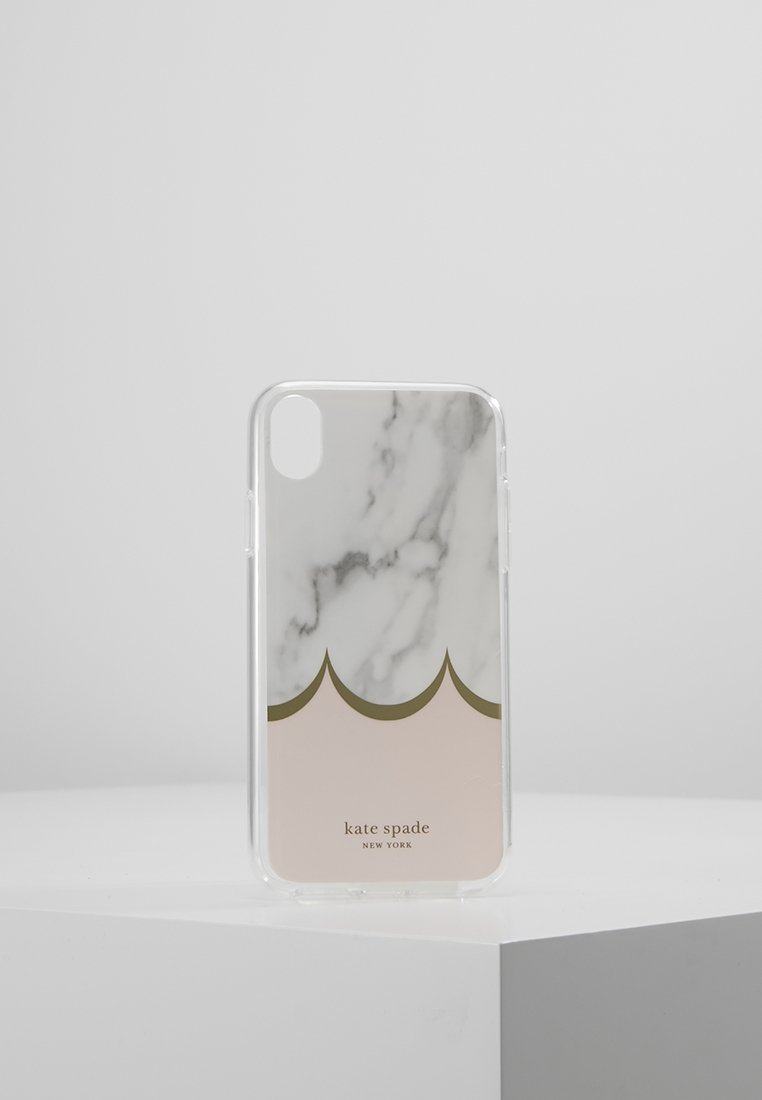 kate spade new york - IPHONE CASES MARBLE SCALLOP - Portacellulare - pink multi