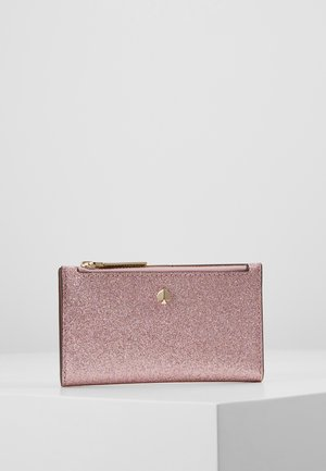 SMALL SLIM BIFOLD WALLET - Portefeuille - rose gold