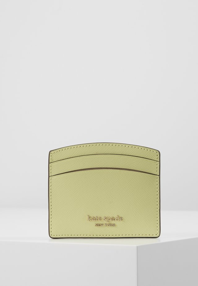 REECE CARD HOLDER - Visitenkartenetui - lemon sorbet