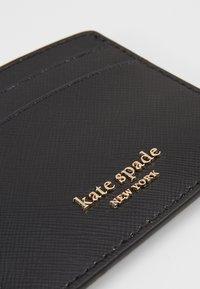 kate spade new york - REECE CARD HOLDER - Visitenkartenetui - black - 2