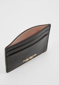 kate spade new york - REECE CARD HOLDER - Visitenkartenetui - black - 5