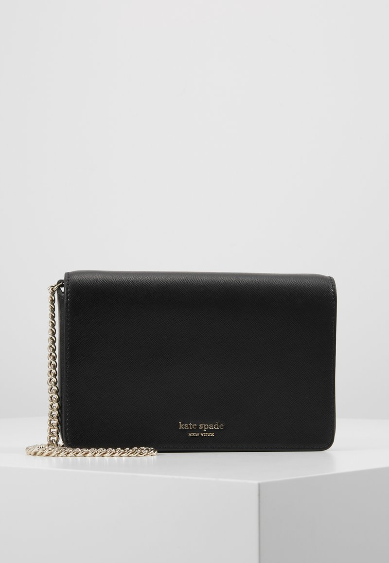 kate spade new york - REECE CHAIN WALLET - Geldbörse - black