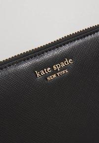 kate spade new york - REECE ZIP AROUND CONTINENTAL - Geldbörse - black - 2