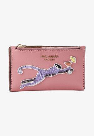 SAFARI SMALL SLIM BIFOLD WALLET - Portefeuille - rococo pink