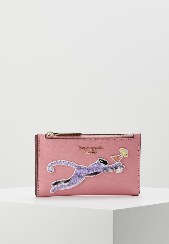 SAFARI SMALL SLIM BIFOLD WALLET - Lompakko - rococo pink