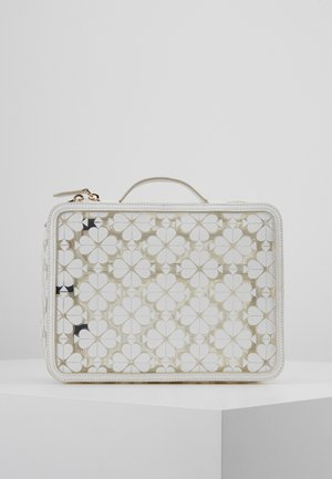 LOGO SEE THROUGH TRAVEL SET - Toalettmappe - optic white