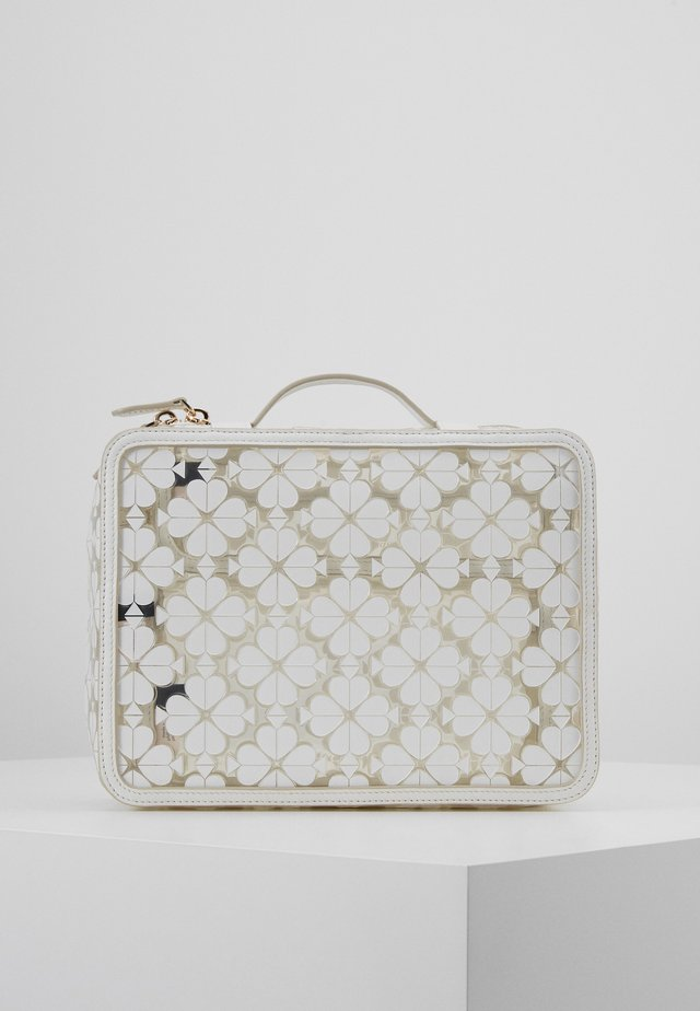 LOGO SEE THROUGH TRAVEL SET - Necessär - optic white