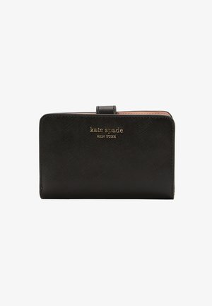 SPENCER SAFFIANO COMPACT WALLET - Portafoglio - black