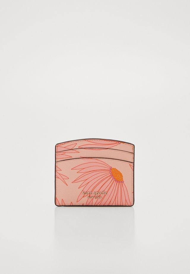 SPENCER GRAND DAISY CARD HOLDER - Geldbörse - pink/multi