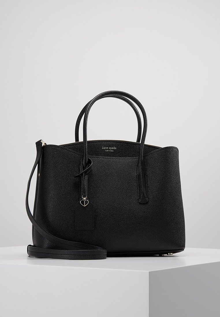 kate spade new york - MARGAUX LARGE SATCHEL - Håndveske - black