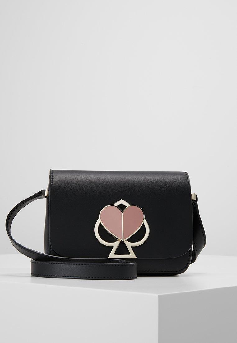 kate spade new york - NICOLA TWISTLOCK - Across body bag - black