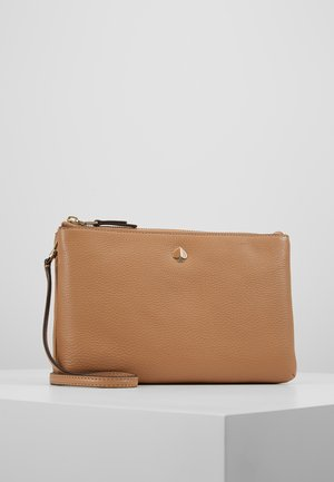 POLLY MEDIUM DOUBLE GUSSET CROSSBODY - Torba na ramię - rich pecan