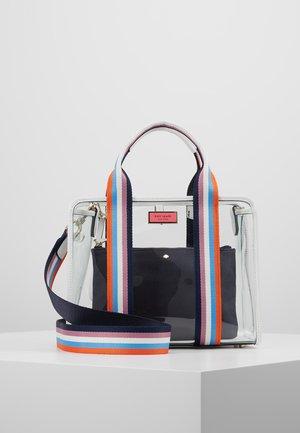 SEE-THROUGH SATCHEL - Handbag - blazer blue/multi