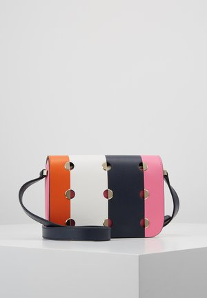 NICOLA  DOT SMALL FLAP SHOULDER - Umhängetasche - juicy orange/multi