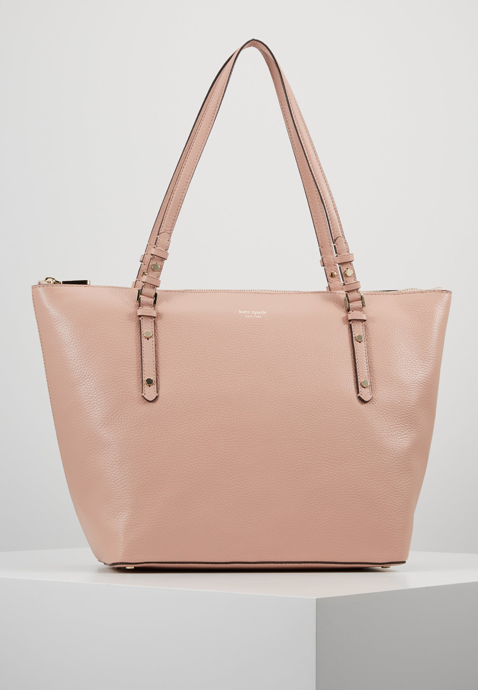 POLLY LARGE TOTE Shoppingväska flapper pink