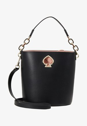 SUZY SMALL BUCKET - Torebka - black