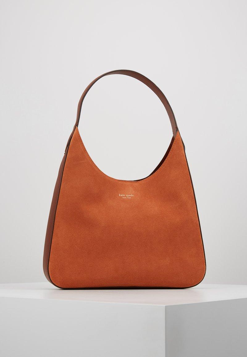 kate spade new york - RITA MEDIUM HOBO - Shoppingväska - amber