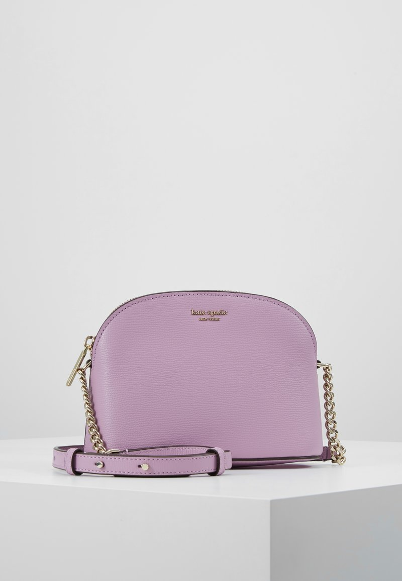kate spade new york - SMALL DOME CROSSBODY - Skuldertasker - orchid