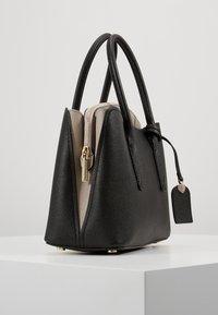 kate spade new york - MEDIUM SATCHEL - Handtasche - black/warm taupe - 3