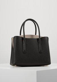 kate spade new york - MEDIUM SATCHEL - Handtasche - black/warm taupe - 2