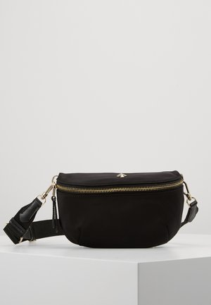 MEDIUM BELT BAG - Ledvinka - black
