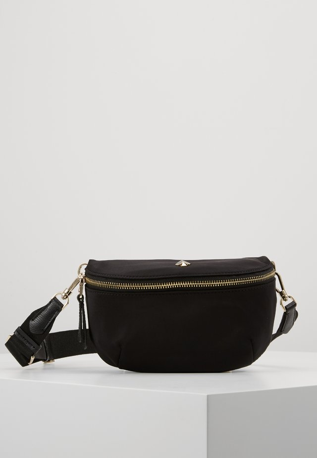 MEDIUM BELT BAG - Saszetka nerka - black