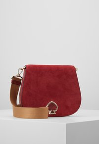 kate spade new york - LARGE SADDLE BAG - Torba na ramię - rosewood - 5