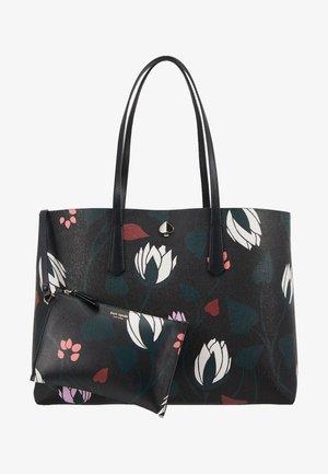 LARGE TOTE - Tote bag - black/multi