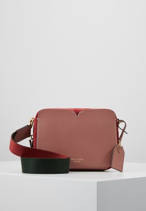MEDIUM CAMERA BAG - Across body bag - tinted rose