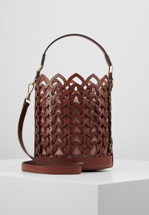 SMALL BUCKET BAG - Bolso de mano - cinnamon spice