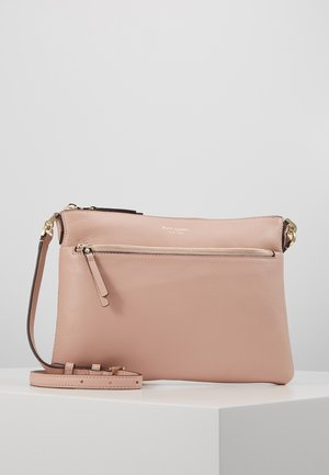 POLLY MEDIUM CROSSBODY - Across body bag - flapper pink