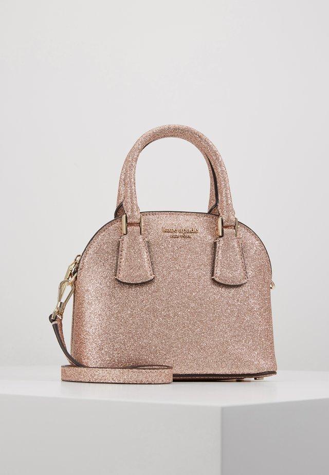 SYLVIA MINI DOME SATCHEL GLITTER - Käsilaukku - pink